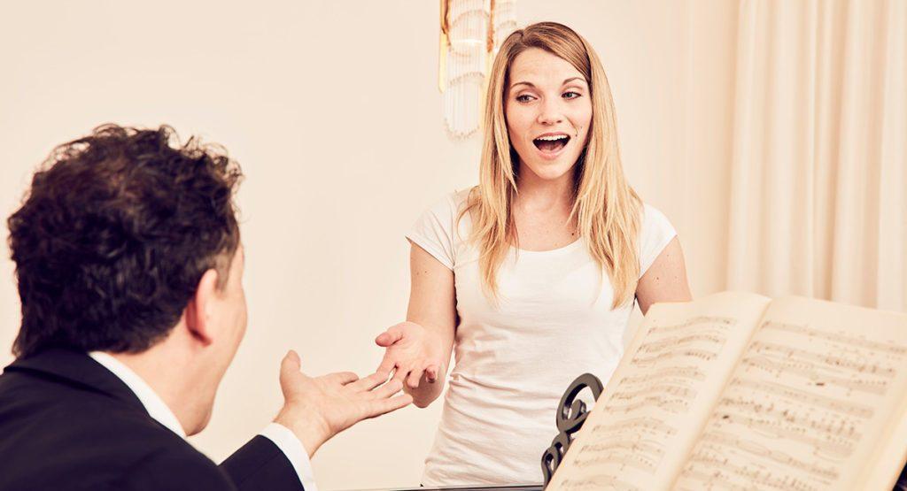 Rehabilitation der Sängerstimme