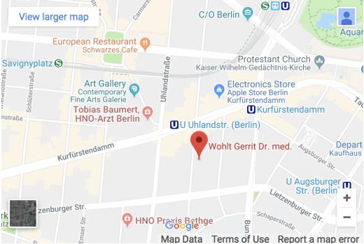 Praxis Dr. Wohlt - Fasanenstraße 70, 10719 Berlin