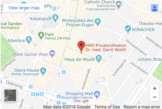 HNO Privatordination Dr. med. Gerrit Wohlt - Annagasse 8, 1010 Wien, Austria